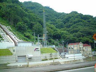 新旧 帝釈川発電所
