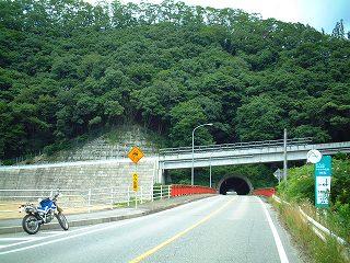 山越えの道