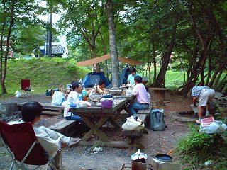 県民の森BBQ広場