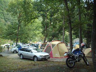 大鬼谷キャンプ場