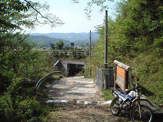 山陽自動車道大羽谷トンネル西側付近